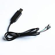 pl2303hx til usb ttl upload downloade tråd til Arduino (95cm)