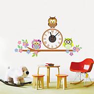 壁時計 - プラスチック - コンテンポラリー - プラスチック