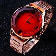 billige Quartz-Dame Armbåndsur Quartz Rose Guld Vandafvisende Analog Damer Glitrende Mode - Lilla Rød Blå / Rustfrit stål