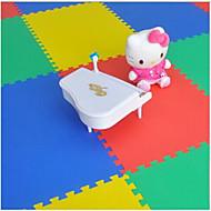 50 * 50発泡マットフロアマットの赤ちゃんの袋のステッチランダムな色4錠をマットパズルマットをクロール子供。