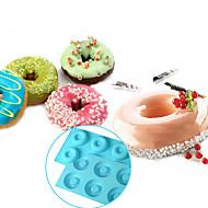 6-celle doughnut bundt ring silikone bage form bakke kage skimmel, bage værktøj