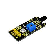 módulo de sensor de detecção de incêndio de fogo de keyestudio para arduino