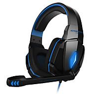 KOTION EACH Over øre / Pandebånd Ledning Hovedtelefoner Plast Gaming øretelefon Med volumenkontrol / Med Mikrofon / Støj-isolering Headset