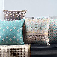 4現代のミニマリズム神秘的な幾何学的な装飾eygpt枕カバーのセット