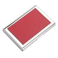 Unisex Bags All Seasons PU Card & ID Holder for Professioanl Use Black Purple Coffee Red Pink