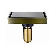お買い得  アンティーク調ブロンズ Series-排水口金具 アンティーク 真鍮 1枚 - ホテルバス