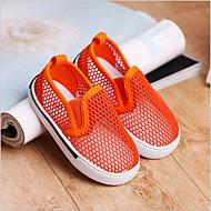 男の子 女の子 靴 チュール 秋 コンフォートシューズ スニーカー 用途 カジュアル ブルー イエロー グリーン オレンジ ライトブルー