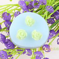 billige Bakeredskap-blomst formet fondant kake sjokolade silikonformer, dekorasjon verktøy bakeware