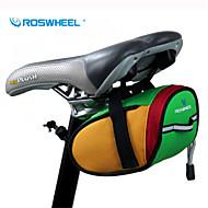 ROSWHEEL® Fietstas 0.8LFietszadeltas Waterdicht / Waterdichte Rits / Schokbestendig / Draagbaar Fietstas 600D Polyester Fietstas
