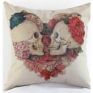 頭蓋骨枕カバーソファの家の装飾のクッションカバー(17 * 17インチ)