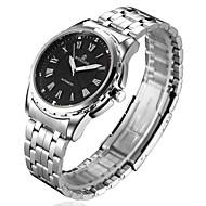 - voor Erkek -İçin Analog - Watch Band - Çelik