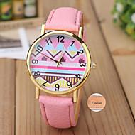 personlig gave minimalistiske mode dame læder ur