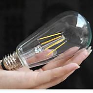 E26/E27 LED-globepærer leds Integrert LED Varm hvit Gul 2300K-2700KK Dekorativ