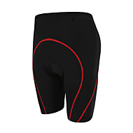 GETMOVING Herre / Dame / Unisex Cykelshorts med indlæg Cykel 3/4 Tights / Underdele / Tøjsæt Anatomisk design, Åndbart Stribe, Tynd