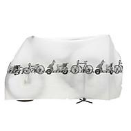 自転車カバー 防水 レクリエーションサイクリング / サイクリング / バイク / BMX ナイロン ホワイト / グレー - 1 pcs