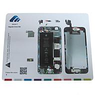 esteira parafuso de guia de reparação técnico almofada magnética para iphone 6