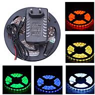 Zizm 5m 150x5050 smd bandă lumină și conector și ac110-240v la dc12v3a noi au eu uktransformer (varietate de culori)