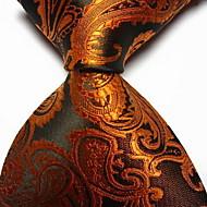 Homme Soirée / Travail / Basique Cravate - Imprimé, Cachemire