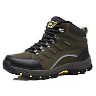 男性 ハイキング 靴 スエード グリーン / ネービー
