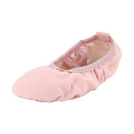 Kids' Ballet Canvas Flats Indoor Flat Heel Blushing Pink