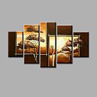 ieftine Artist - Zhuo-Hang-pictate pictură în ulei Pictat manual - Peisaj Modern pânză