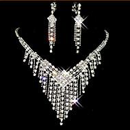 Žene Komplet nakita Kubični Zirconia Glina Imitacija dijamanta Legura Kićanka Slatko Zabava Füllbevalók Ogrlice Nakit odjeće