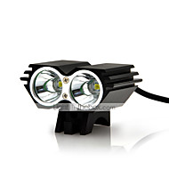 Lumini de Bicicletă lumini de securitate LED Cree XM-L U2 Ciclism Rezistent la Impact Reîncărcabil Rezistent la apă Ușor de Purtat Lumină