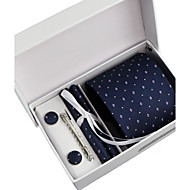 Men's Party/Evening Wedding Formal business Necktie six sets (8CM)