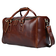 Men Cowhide Casual / Outdoor / Professioanl Use Shoulder Bag / Tote / Weekend Bag/ Travel Bag - Brown