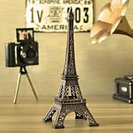 criativa 18 centímetros de altura de mini strass ferro metal paris torre Eiffel