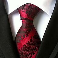 Herre Kontor Slips - Polyester Trykt mønster