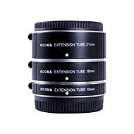 Kooka kk-ft47a af aluminium forlengelsesrør satt for olympus panasonic Mikro 4/3 system (10mm, 16mm, 21mm) kameraer