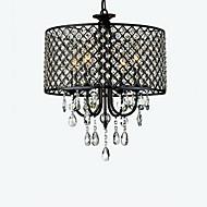 billiga Belysning-QINGMING® 4-Light Trumma Ljuskronor Glödande - Kristall, 110V / 110-120V / 220-240V Glödlampa inte inkluderad / 20-30㎡ / E12 / E14
