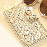 Luxury Bling Crystal & Diamond Leather Flip Case Bag with Card Slot For iPhone 6s 6 Plus