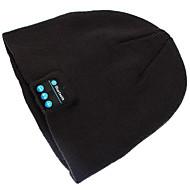 warme Mütze Hut drahtlose Bluetooth Smart Cap Kopfhörerkopfhörer-Lautsprecher Mic für iPhone sumsung Handy