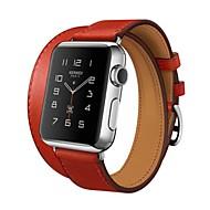 Pogledajte Band za Apple Watch Series 3 / 2 / 1 Apple Klasična kopča Prava koža Traka za ruku