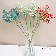 Gren Polyester Brudeslør Bordblomst Kunstige blomster