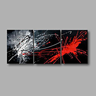 billiga Topp Konstnär-Hang målad oljemålning HANDMÅLAD - Abstrakt Moderna Inkludera innerram / Sträckt kanfas