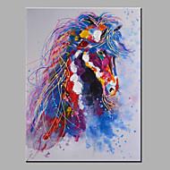 oljemaling moderne abstrakt ren hånd trekke klare å henge dekorative hest oljemaleri