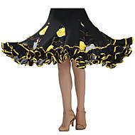 cheap Dancewear & Dance Shoes-Ballroom Dance Tutus & Skirts Women's Performance Crepe Sequined Draping Skirt