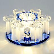 billige Taklamper-3-Light Takplafond Omgivelseslys Krystall Krystall, LED 220-240V Pære Inkludert