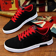 Heren Vulcanized Shoes Canvas Lente Zomer Herfst Causaal Vulcanized Shoes Platte hak Rood Groen Blauw