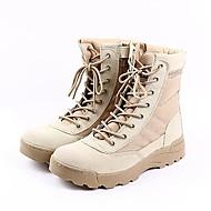 Χαμηλού Κόστους Amir®-Ανδρικά Μπότες Μάχης Συνθετικό Φθινόπωρο / Χειμώνας Ανατομικό Μπότες Αντιολισθητικό 20.32-25.4 cm / Μποτίνια Μαύρο / Μπεζ