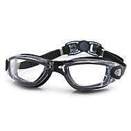 FEIUPE משקפי שחייה לנשים / לגברים / יוניסקס נגד ערפל / עמיד למים / גודל מתכוונן / אנטי-UV סיליקה ג'ל PC שחור / לבן / אפוראפור / שחור /