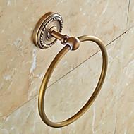 Tyč na ručníky Starožitný Mosaz 1 ks - Hotelová koupel kroužek na ručník