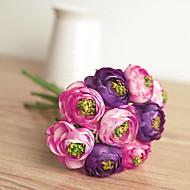 preiswerte -Künstliche Blumen 1 Ast Hochzeitsblumen Camellia Tisch-Blumen