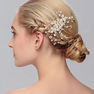 Perle Hair Combs / Hovedtøj med Blomster 1pc Bryllup / Speciel Lejlighed / Afslappet Medaljon