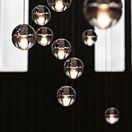 Tiffany Rustikk/ Hytte Vintage Moderne / Nutidig Traditionel / Klassisk Retro Rød Lanterne Land Anheng Lys Til Stue Soverom Baderom