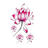 halloween 1kpl Lotus flowerwaterproof tatuointi tarroja