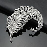 cheap Jewelry-Women's Brooches - Classic & Timeless 3D White Brooch For Business / Ceremony / Wedding